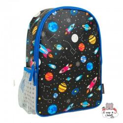 """Backpak """"Space"""" - PTC-5074351 - Petit Collage - Backpacks - Le Nuage de Charlotte"""