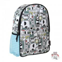 "Backpak ""Animals"" - PTC-5074879 - Petit Collage - Backpacks - Le Nuage de Charlotte"