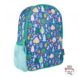 "Backpak ""Woodland"" - PTC-5074920 - Petit Collage - Backpacks - Le Nuage de Charlotte"