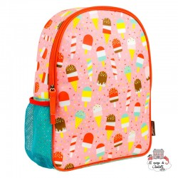 "Backpak ""Ice creams"" - PTC-5074350 - Petit Collage - Backpacks - Le Nuage de Charlotte"