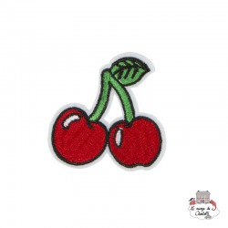 "Iron Patch Accessory ""Cherry Stem"" - S&BEVA023 - Sass & Belle - Iron Patch - Le Nuage de Charlotte"