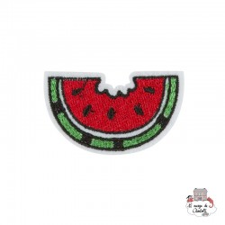 "Iron Patch Accessory ""watermelon slice"" - S&BEVA024 - Sass & Belle - Iron Patch - Le Nuage de Charlotte"