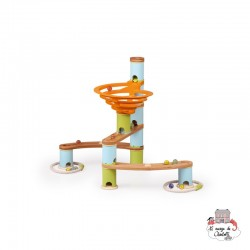 Marble Run - Basic - BBP6149601 - Bamboo Planet - Marble Run and Games - Le Nuage de Charlotte