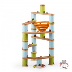 Marble Run - Advanced - BBP6149602 - Bamboo Planet - Marble Run and Games - Le Nuage de Charlotte
