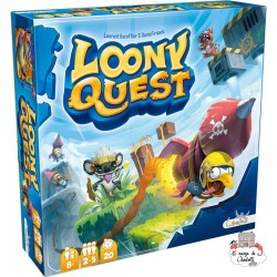 Loony Quest - LIB0001 - Libellud - for the older - Le Nuage de Charlotte