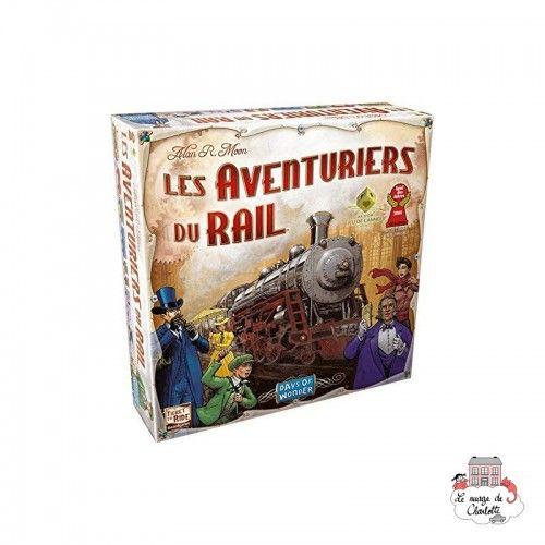 Les Aventuriers du Rail - DOW-7517 - Days of Wonder - Board Games - Le Nuage de Charlotte