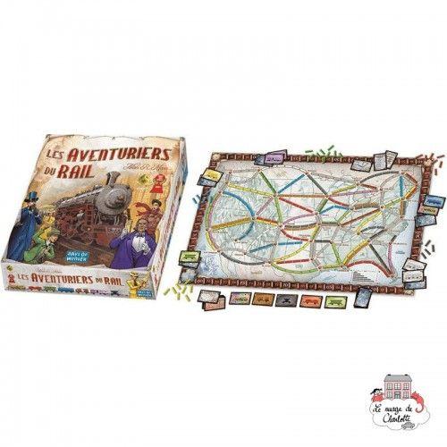 Les Aventuriers du Rail - DOW-7517 - Days of Wonder - for the older - Le Nuage de Charlotte