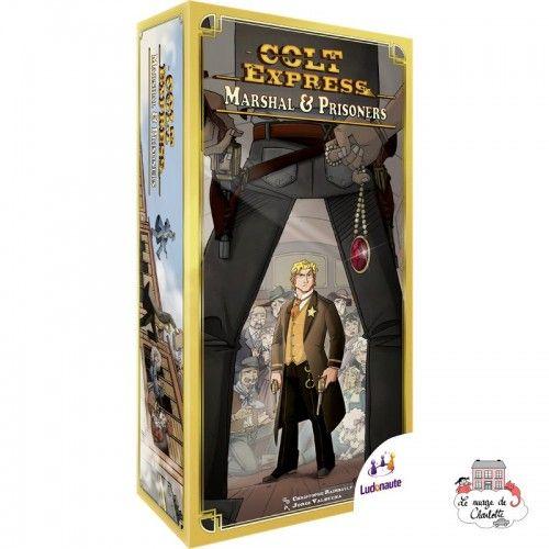 Colt Express - Ext. Marshal & Prisonniers - LUD0002 - Ludonaute - pour les plus grands - Le Nuage de Charlotte