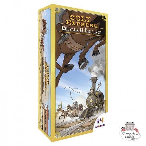 Colt Express - Ext. Chevaux et Diligence - LUD0003 - Ludonaute - pour les plus grands - Le Nuage de Charlotte