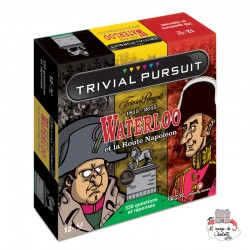 Trivial Pursuit - Waterloo et la route de Napoléon - WIM0003 - Winning Moves - for the older - Le Nuage de Charlotte