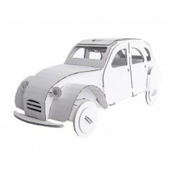 Tin Snail Car (white)