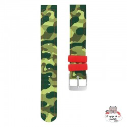 Twistiti Strap - Jungle Camouflage - TWI0008 - Twistiti - Watches - Le Nuage de Charlotte
