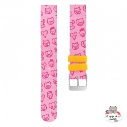 Twistiti Strap - Pink - TWI0010 - Twistiti - Watches - Le Nuage de Charlotte