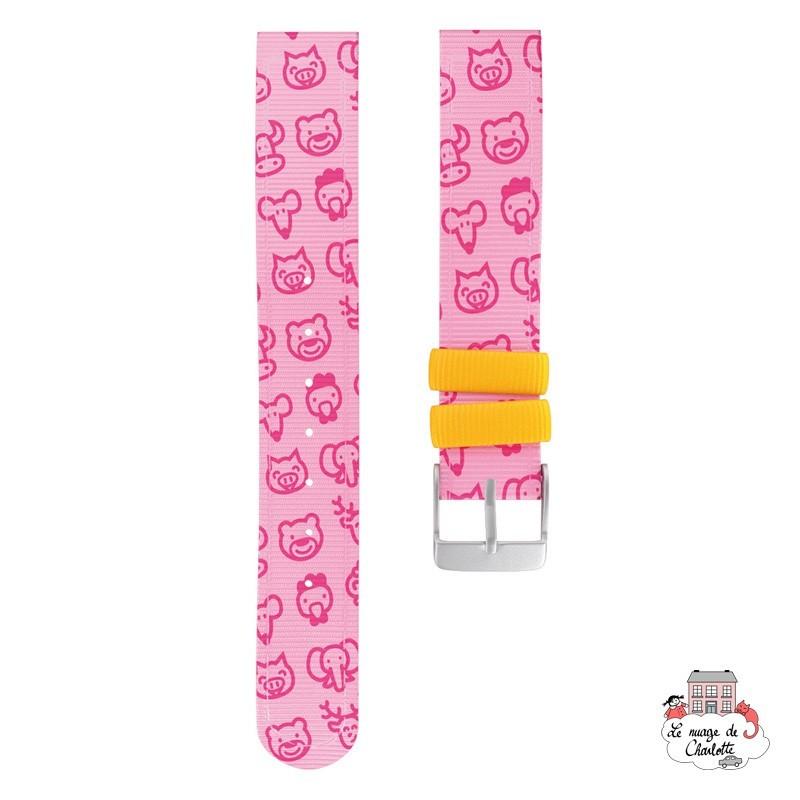 Twistiti Strap - Pink - TWI-WS18 - Twistiti - Watches - Le Nuage de Charlotte