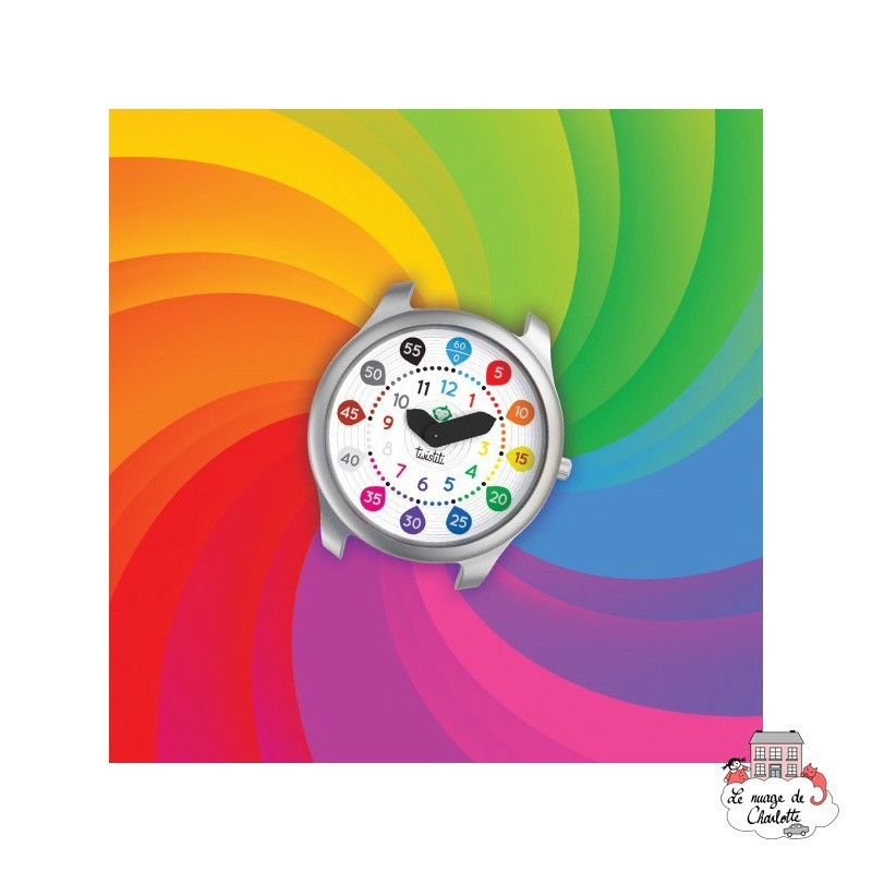 Twistiti Dial - Numbers - TWI-WS9 - Twistiti - Watches - Le Nuage de Charlotte