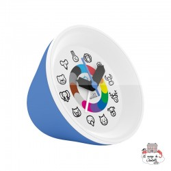 Twistiti Alarm Clock - Blue - TWI0021 - Twistiti - Clocks & Alarm Clocks - Le Nuage de Charlotte