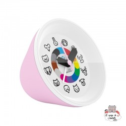 Twistiti Alarm Clock - Pink - TWI0022 - Twistiti - Clocks & Alarm Clocks - Le Nuage de Charlotte