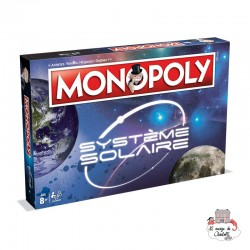 Monopoly - Solar System - WIM0004 - Winning Moves - for the older - Le Nuage de Charlotte