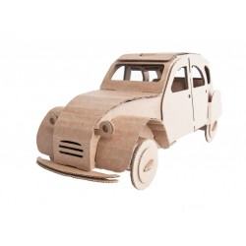 Tin Snail Car (natural) -...