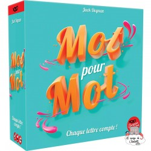Mot pour mot - SCM0001 - Scorpion Masqué - for the older - Le Nuage de Charlotte