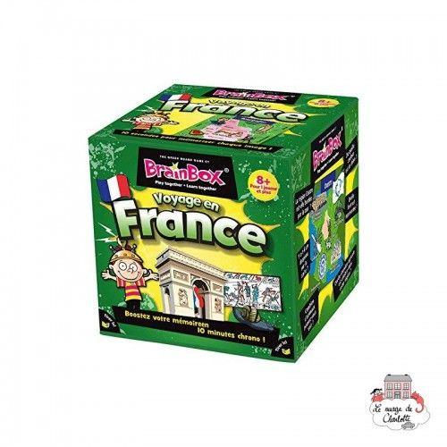 BrainBox - Voyage en France - GBG0001 - Green Board Games - for the older - Le Nuage de Charlotte