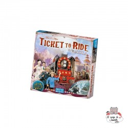 "Ticket to Ride - Map Col. 1 ""Asia"" - DOW-75115 - Days of Wonder - for the older - Le Nuage de Charlotte"