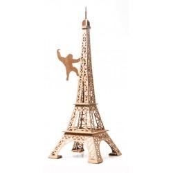 Tour Eiffel (naturel) - LEO-L02011 - Leolandia - Maquettes en carton - Le Nuage de Charlotte