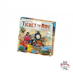 "Ticket to Ride - Map Col. 2 ""India"" - DOW-75118 - Days of Wonder - Board Games - Le Nuage de Charlotte"