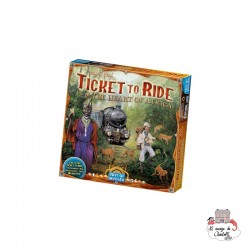 """Ticket to Ride - Map Col. 3 """"The Heart of Africa"""" - DOW-75123 - Days of Wonder - Board Games - Le Nuage de Charlotte"""