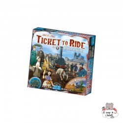 "Ticket to Ride - Map Col. 6 ""France"" - DOW-75169 - Days of Wonder - Board Games - Le Nuage de Charlotte"