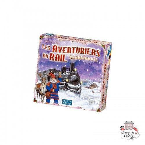 Les Aventuriers du Rail - Scandinavie - DOW-7563 - Days of Wonder - Jeux de société - Le Nuage de Charlotte