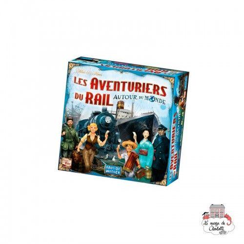 Les Aventuriers du Rail - Autour du Monde - DOW-75136 - Days of Wonder - Jeux de société - Le Nuage de Charlotte