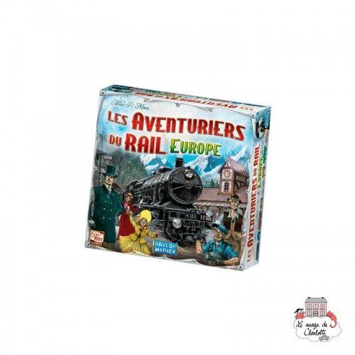 Les Aventuriers du Rail - Europe - DOW-7523 - Days of Wonder - Jeux de société - Le Nuage de Charlotte