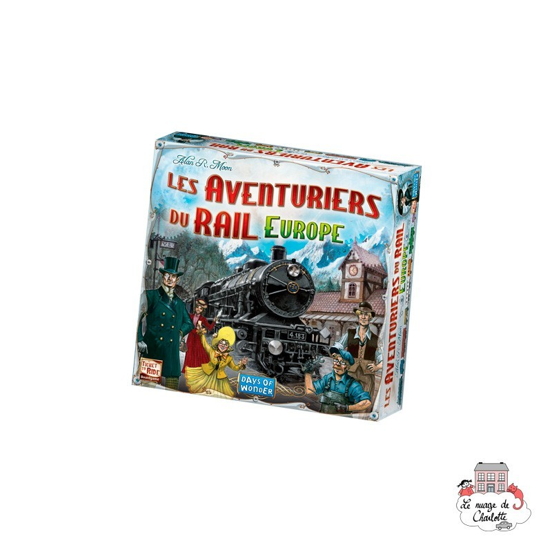 Ticket to Ride - Europe - DOW-7523 - Days of Wonder - Board Games - Le Nuage de Charlotte