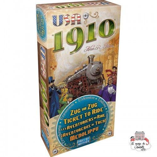 Les Aventuriers du Rail - Ext. USA 1910 - DOW0014 - Days of Wonder - pour les plus grands - Le Nuage de Charlotte