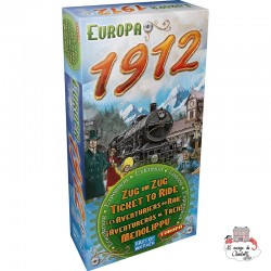 Ticket to Ride - Exp. Europa 1912 - DOW-7581 - Days of Wonder - Board Games - Le Nuage de Charlotte