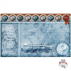 Ticket to Ride - Exp. Europa 1912 - DOW-7581 - Days of Wonder - for the older - Le Nuage de Charlotte