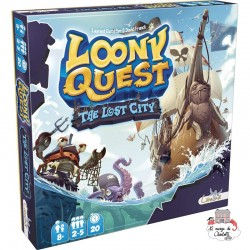 Loony Quest - Exp. The Lost City - LIB0005 - Libellud - for the older - Le Nuage de Charlotte