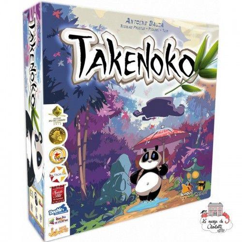 Takenoko - BBX0003 - Bombyx - pour les plus grands - Le Nuage de Charlotte