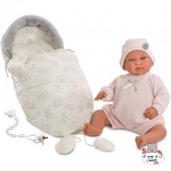Newborn Beba 44 cm - LLO-84424 - Llorens - Poupées - Le Nuage de Charlotte