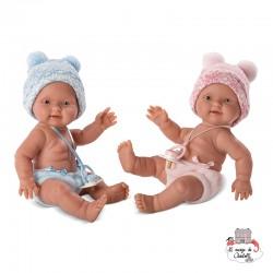 Baby Twins 26 cm - LLO-26272 - Llorens - Poupées - Le Nuage de Charlotte