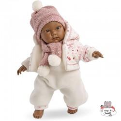 Cuqui Crying Baby Doll 30 cm - LLO0005 - Llorens - Poupées - Le Nuage de Charlotte