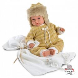 Bébé d'hiver 36 cm - LLO0006 - Llorens - Poupées - Le Nuage de Charlotte