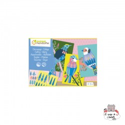 Creative Box - Cutting-Glueing - AVM-KC078 - Avenue Mandarine - Creative Kits - Le Nuage de Charlotte