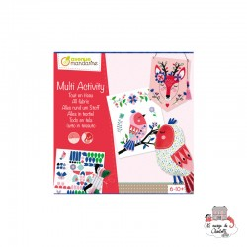 Creative box - All fabric - AVM-KC084 - Avenue Mandarine - Creative Kits - Le Nuage de Charlotte