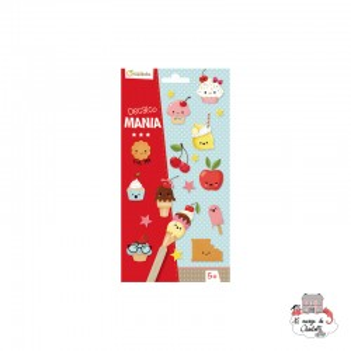 Decalco Mania - Cupcake - AVM-CC027O - Avenue Mandarine - Decalcomania - Le Nuage de Charlotte