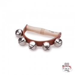 Handle Bells - 5 Bells - NCT-10115 - New Classic Toys - Musical Instruments - Le Nuage de Charlotte