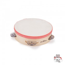 Tambourine (16 cm) - NCT0006 - New Classic Toys - Musical Instruments - Le Nuage de Charlotte