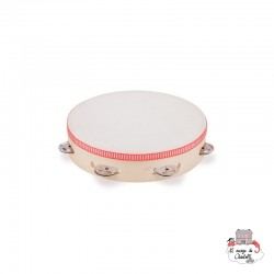 Tambourine (22 cm) - NCT0007 - New Classic Toys - Musical Instruments - Le Nuage de Charlotte