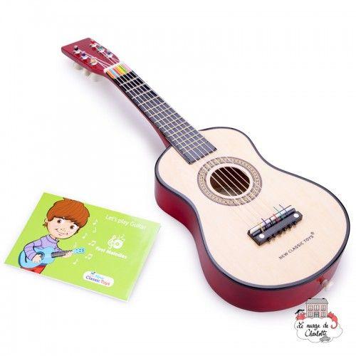 Guitar - NCT-10344 - New Classic Toys - Musical Instruments - Le Nuage de Charlotte